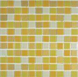 Tuile de mosaïque en verre de vente chaude pour l'étage et le mur