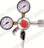 フランス規格協会タイプ酸素の流量計