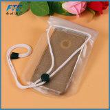 Bolso impermeable de la caja del teléfono móvil del bolso para el teléfono móvil de 5.5 pulgadas