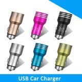 Высококачественные металлические безопасно молотка автомобильного зарядного устройства USB для мобильных телефонов/iPhone 5/5s/6/6s
