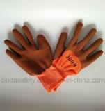 Латекс из пеноматериала безопасности рабочие перчатки