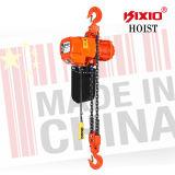 Tipo alzamiento de cadena eléctrico de la carretilla de 5 toneladas con el rodillo impulsor de la CA