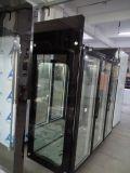 Refrigerador floral do indicador de 3 portas para a loja de flor