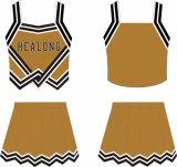 Jersey faits sur commande de Cheerleading de modèle de Despoke de sublimation de teinture de Healong pleins