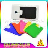 Logotipo personalizado Teléfono Móvil de silicona de los titulares de tarjeta de crédito para la promoción