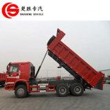 Sinotruk HOWO 6X4の25トンのローディングのダンプカートラックが付いている重いダンプトラック