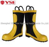 Laarzen van de Brandbestrijder van Ce Apprval van de Goede Kwaliteit van de Verkoop van China Yse de Hete die voor de Redding van de Brand worden gebruikt