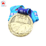최고 Sell Custom Metal Antique Color 3D Mountain Medal