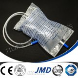 尿袋または足のBagwithの尿袋または尿の排水袋または尿のセリウム、ISOは証明する