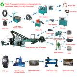 Xkp560 Автоматическое удаление отходов перерабатывающая установка шин с 3 тонн