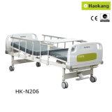 Letto di ospedale manuale di funzione HK-N206 due (base, attrezzature mediche mediche)