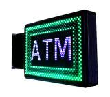 LEIDENE Vertoning voor het Teken van de Bank ATM