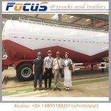 Cimc de Semi Aanhangwagen van de Tanker van het Cement van 42cbm voor Algerije