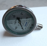 工場価格のよい販売の耐衝撃性のステンレス鋼の圧力計
