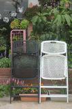 Silla de plegamiento al aire libre plástica del hogar del jardín del nuevo producto para la boda