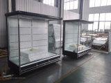 먼 Multideck 전시 냉장고, 슈퍼마켓을%s 큰 옥외 갑판 냉각장치