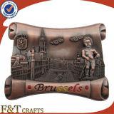 Выполненный на заказ декоративный античный магнит холодильника сувенира 3D (FTFM2271A)
