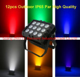 12PCS 15W RGB 3in1 indicatore luminoso impermeabile/esterno del LED di PARITÀ con la luce intermittente