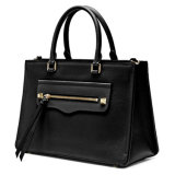 女性のハンドバッグの本革のオフィスのブリーフケース