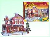 Presente de Natal DIY 3D Puzzle brinquedos para o Natal (H4551123)