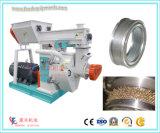 prensa de pellet de madera de la biomasa con alimentador de forzado y el anillo morir