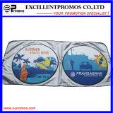 Popular Customized Logo Printed Air Bubble Nylon Car Sunshade (EP-CS1018)