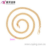 Imitaionの方法Xuping 18kは環境の銅42639の石造りのネックレスを金張りしなかった