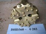Вниз с Drilling молотка отверстия, бит кнопки утеса сверла DTH для Drilling карьера, минирование