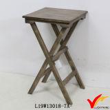 Triángulo en forma de Fantasía Juego de mesa de madera de café