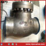 Válvula de retenção de balanço soldada de aço fundido Bw / RF