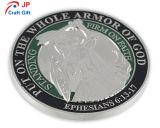 Moneta di prova rotonda personalizzata di nichelatura di alta qualità