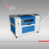 Boa máquina de estaca da gravura do laser da qualidade Jq4030 mini para o papel de couro de madeira acrílico