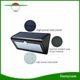 Nouveau 38 LED mur solaire un léger mouvement du capteur de lumière de jardin piscine Wall Lamp 3 modes de travail de l'éclairage de jardin