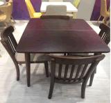 Tabella pranzante del ristorante elegante moderno domestico industriale di Fureniture