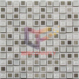 Mosaico de mármol con marco de plástico para el uso de la pared (CSR100)
