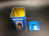 De metal caja de la lata de dulce de leche (C001-V2)