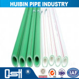 Grande flexibilidade de PP-R para o tubo de alimentação de água quente e frio