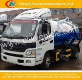 4X2 de Tankwagen van Foton 5-8 Ton/8000L Sewage Suction