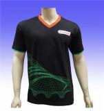 T-shirt fait sur commande d'usage de sport d'hommes de qualité