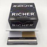 78*44mm 1개의 필터를 가진 1/4 크기 담배 종이 뭉치 또는 끝 또는 바퀴벌레