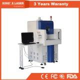 Produção em linha do gravador do laser da tubulação do PVC do PE