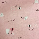 tela 100%Cotton impressa flanela para pijamas das senhoras