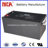 Chumbo Low-Discharge Ciclo profundo AGM Sistema Solar Bateria 12V250HA