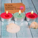 Декоративные искусственные долго сжигание Unscented цвета для приготовления чая и лампа в форме свечи