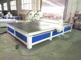 Kundenspezifische Maschine CNC-Rotuer für Ausschnitt, Stich, lang/grosse Größen-Platte schnitzend