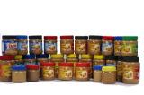 Burro di arachide cremoso di vendita calda e Crunchy cinese in bottiglia dell'animale domestico con 227g, 340g, 510g e 1kg