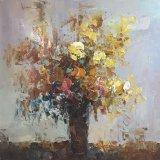 Het met de hand gemaakte Olieverfschilderij van het Canvas van de Bloem voor het Art. van de Muur