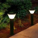 Lampada esterna del prato inglese LED dell'indicatore luminoso solare del giardino
