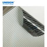 Vinyle perforé de visibilité à sens unique de la meilleure qualité de pente de qualité pour l'impression UV