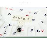 ばねまたは秋のための子供のワイシャツに着せているPhoebeeの卸し売り女の子